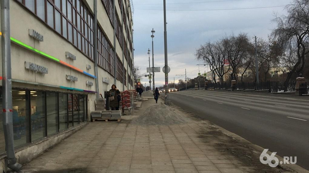 Сегодня – пятый срок, когда должны были точно закончить ремонт тротуаров. Календарь обещаний мэрии