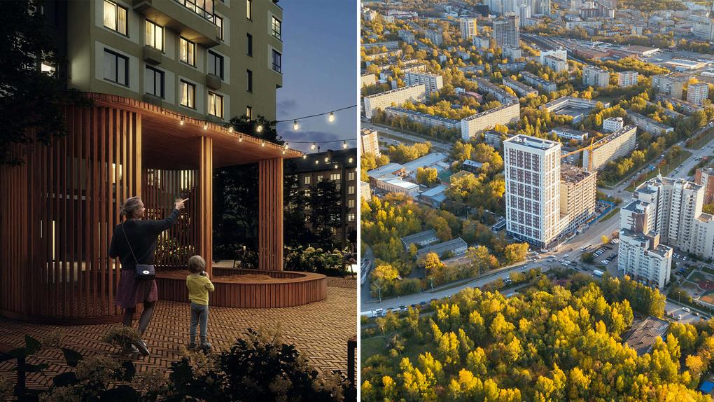 Для тех, кто ценит приватность. Два жилых дома в Екатеринбурге, расположенных максимально уютно