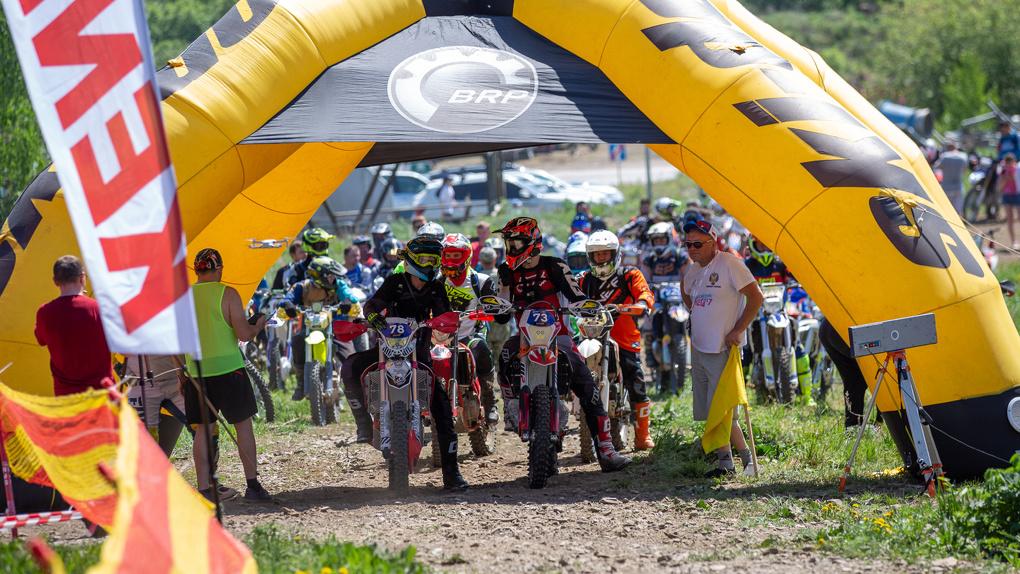 На курорте «Солнечная долина» состоялся фестиваль эндуро-гонок