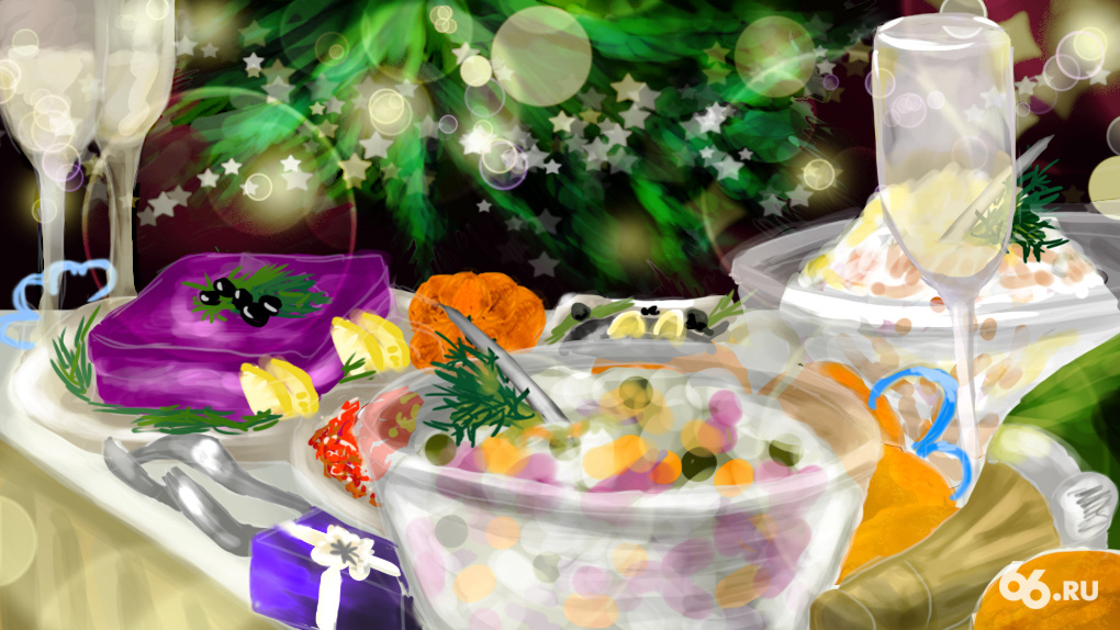 Самая опасная еда и напитки. Как не отравиться в Новый год
