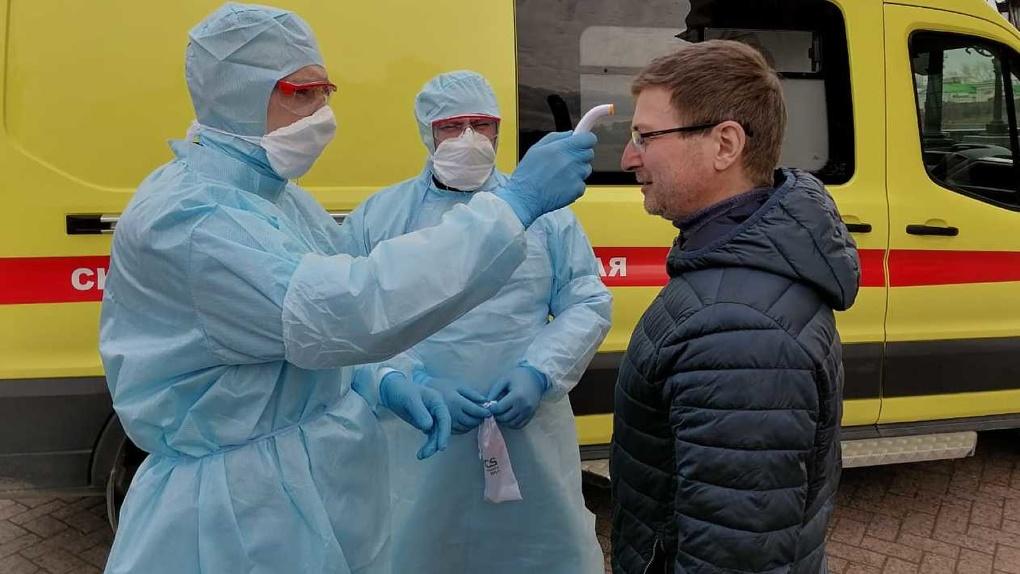 Число заболевших коронавирусом в Свердловской области вновь растет после выхода на плато