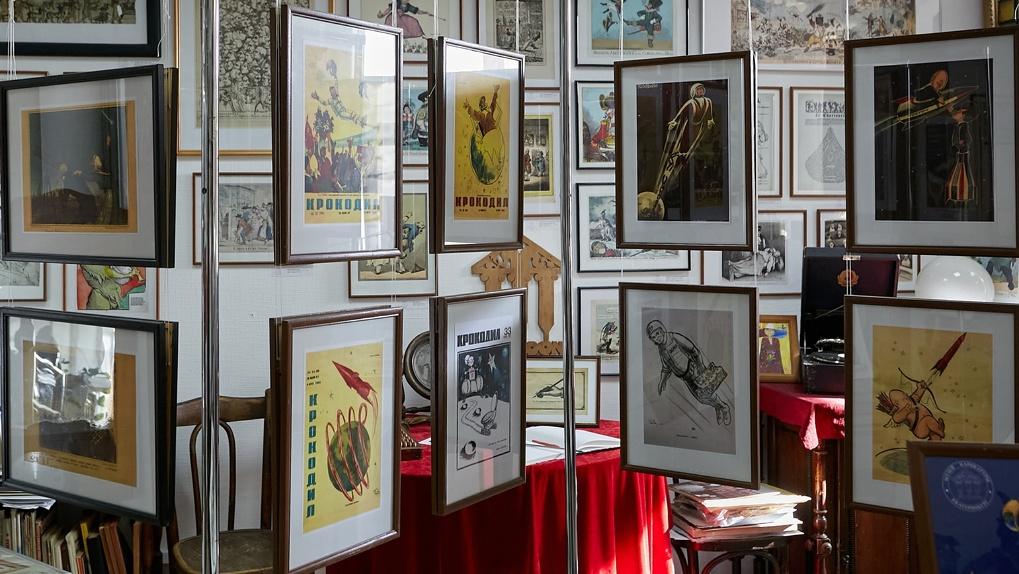 «В худшем случае переедем в гараж». Музей карикатуры выселяют из особняка в центре Екатеринбурга