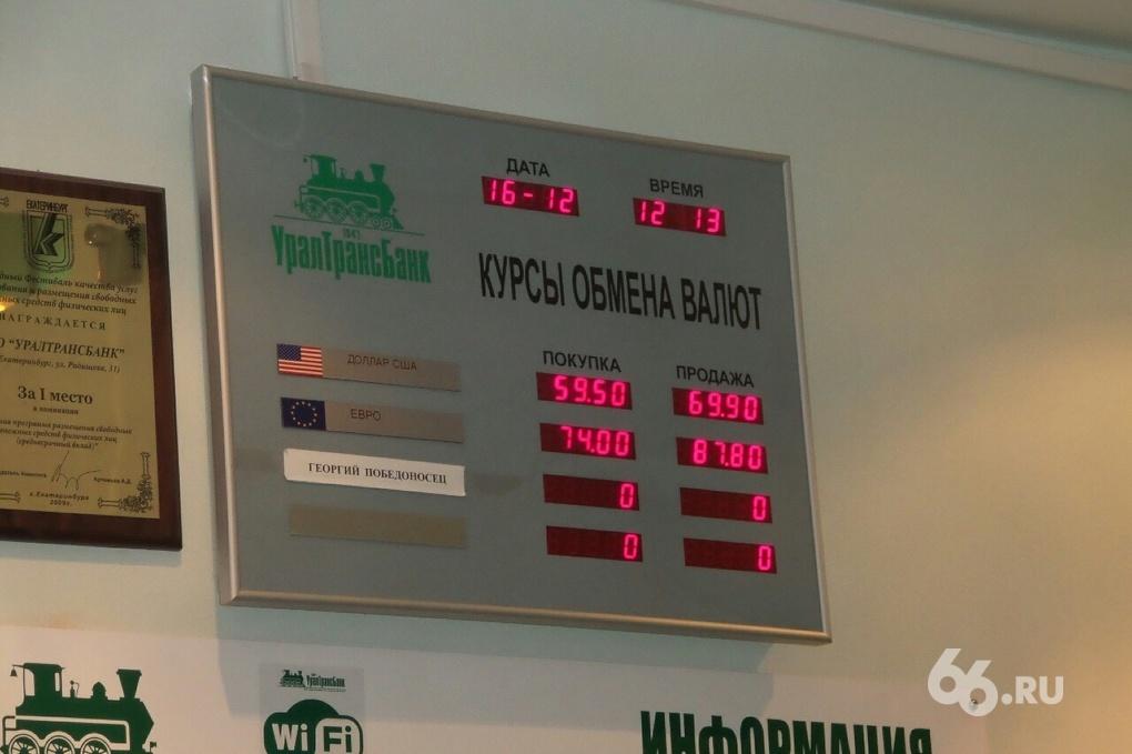 Покупка валют в банках екатеринбурга
