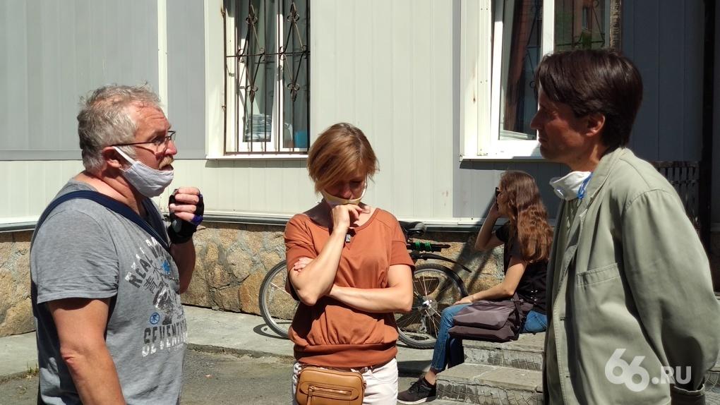 В Екатеринбурге начали судить парня, толкнувшего православного журналиста Румянцева на акции в сквере