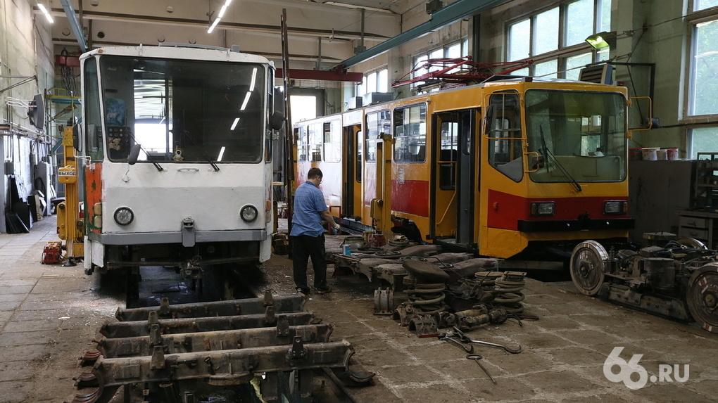 Александр Высокинский пообещал Екатеринбургу полное обновление парка трамваев вагонами «Трансмашхолдинга»