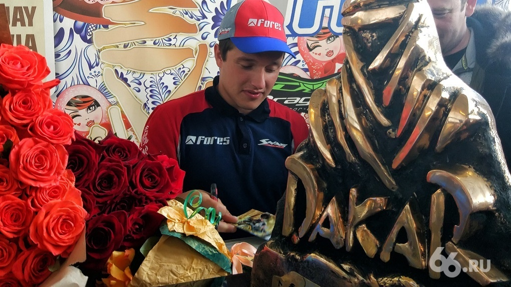 Сергей Карякин финишировал 3-м среди квадроциклов натретьем этапе «Дакар»