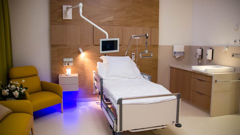 У клиники «УГМК-Здоровье» открылся новый корпус. Посмотрите, что там