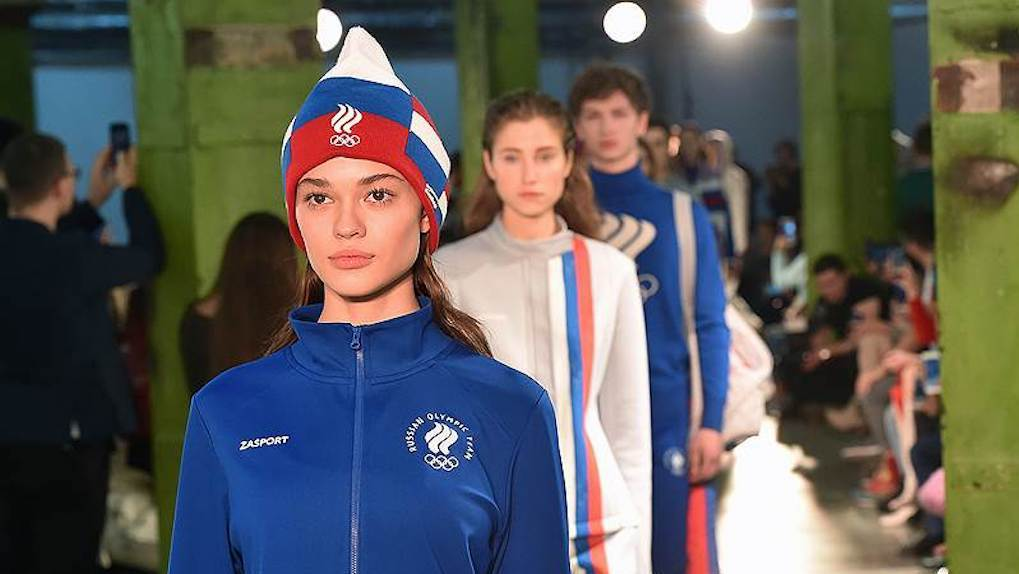 Состоялась презентация олимпийской формы сборной РФ