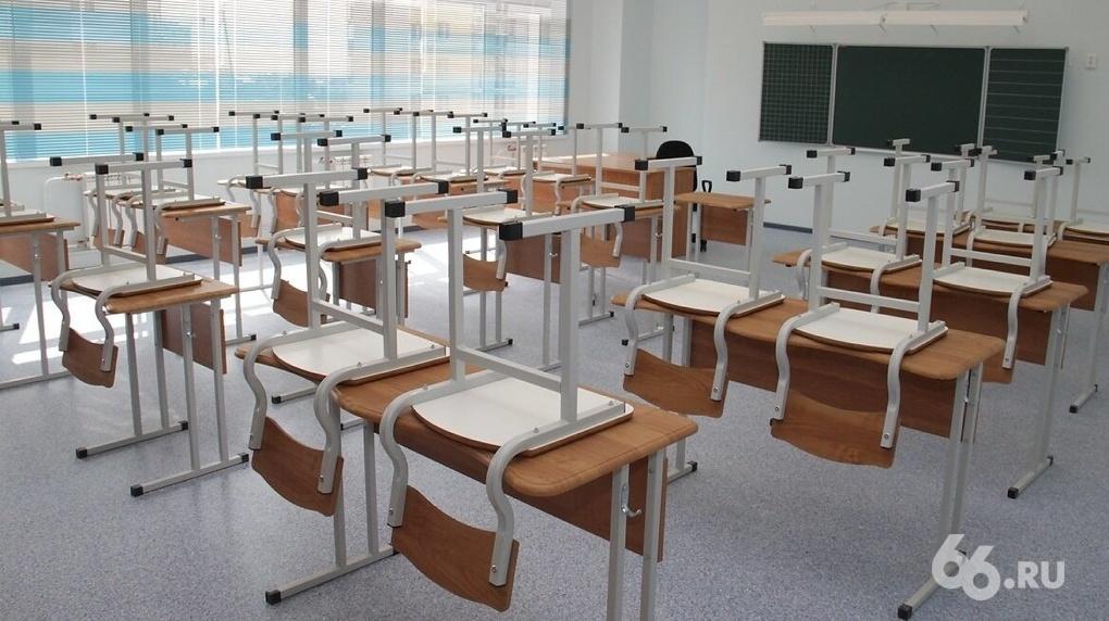 В Екатеринбурге 96 школьных классов отправили на дистант из-за ОРВИ и коронавируса