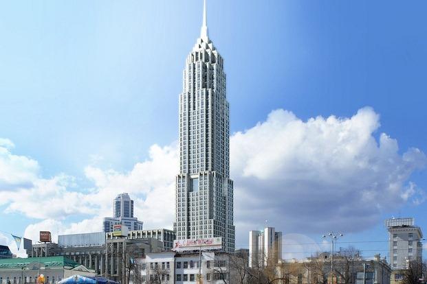 Напротив мэрии построят 50-этажный Empire State Building