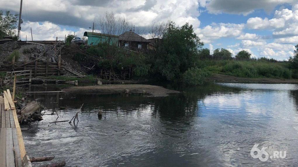 В действиях чиновников, которые тормозили строительство единственного моста в селе, не нашли преступления