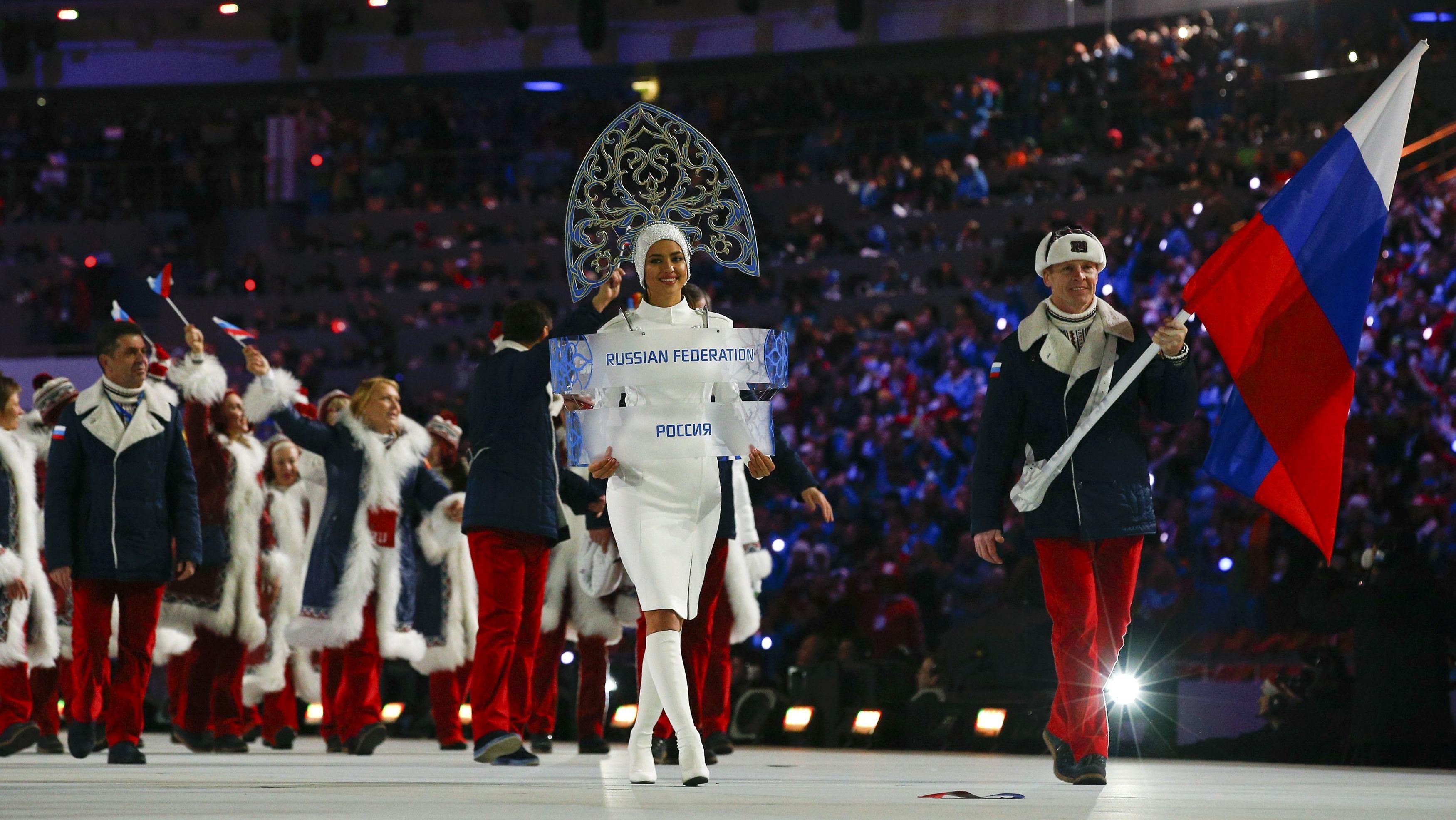 МОК запретил русским спортсменам размещать наформе национальную символику