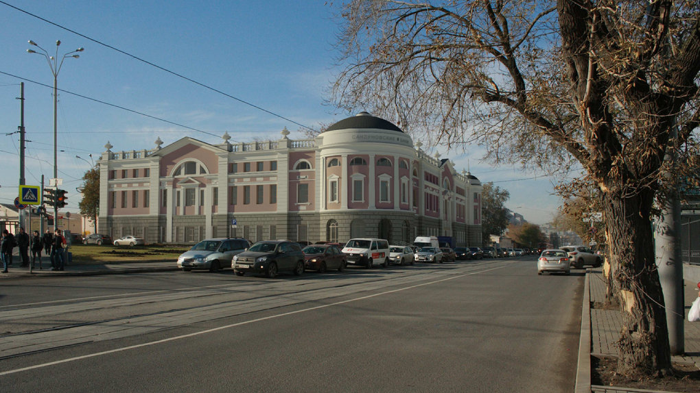 Ради филиала «Сандунов» в Екатеринбурге перестроят сложный перекресток. Эскизный проект