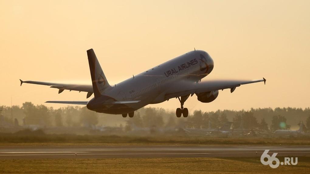 В России резкий рост задержек авиарейсов. Чаще всего опаздывают Уральские авиалинии