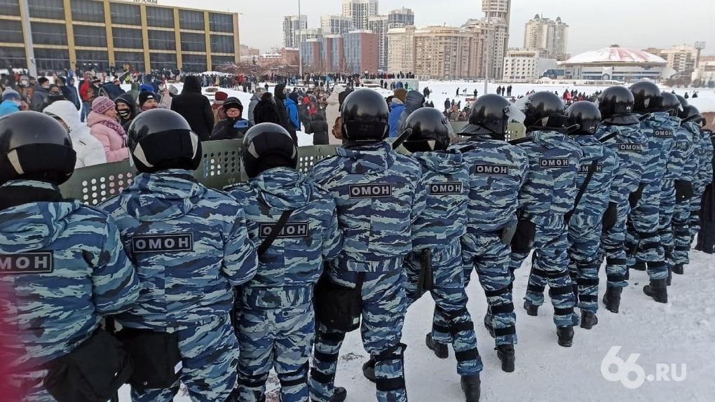 Полиция и Росгвардия ищут сотрудников для охраны массовых мероприятий в Екатеринбурге