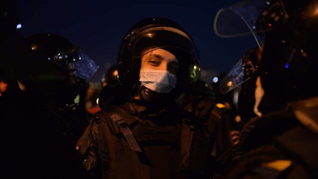 На шествии в среду задержали в девять раз меньше протестующих, чем на январском митинге