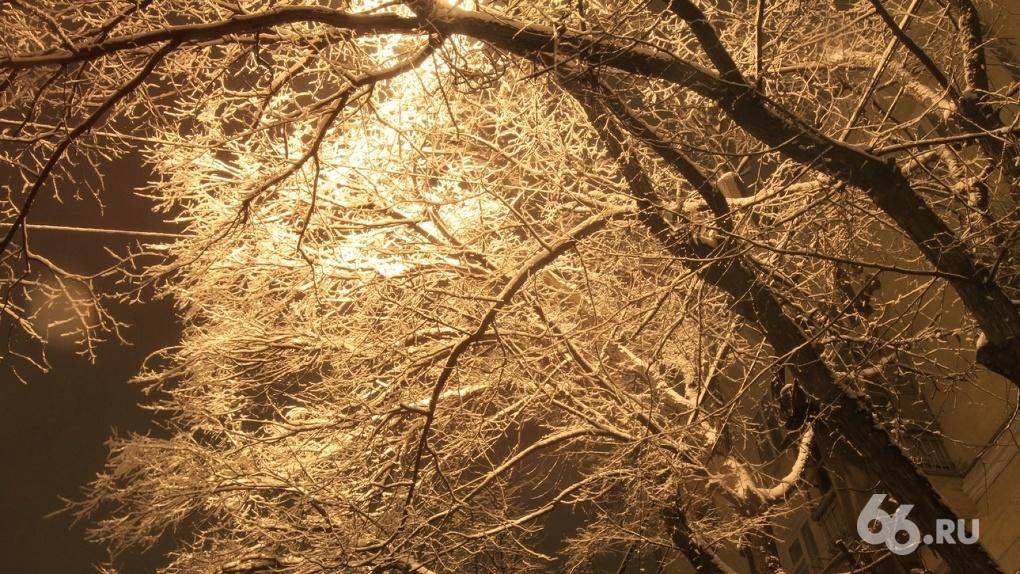 На Новый год в Екатеринбург придут 30-градусные морозы