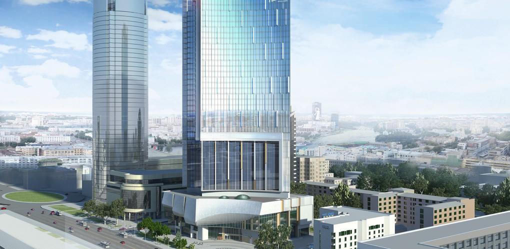 Недостроенный небоскреб Opera Tower арестован. УГМК требует у Атомстройкомплекса 140 млн рублей компенсации