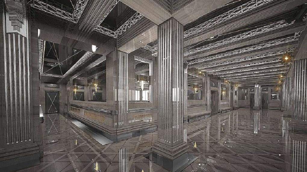 Никита Михалков отреставрирует московский театр, который поддерживает Андрей Симановский. Эскизы