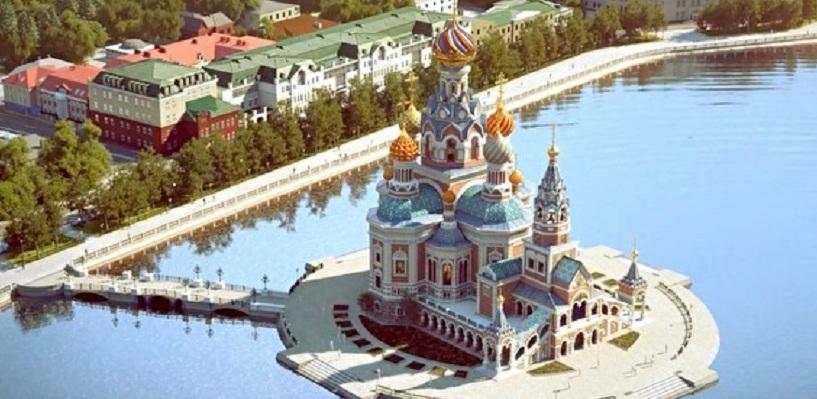 Церкви на воде быть? Губернатор подписал указ о создании рабочей группы по храму Святой Екатерины