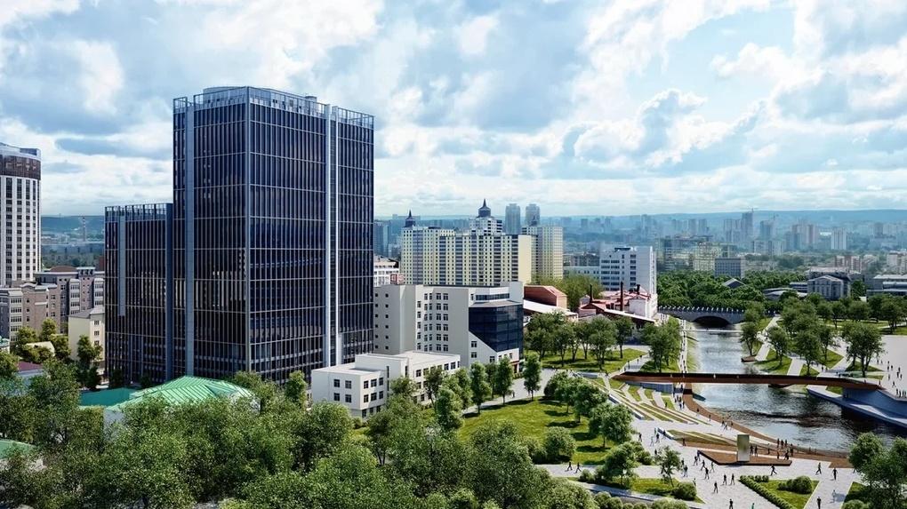 В Екатеринбурге откроют первый бизнес-центр класса La première place