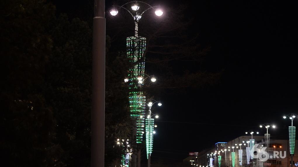 Иллюминация в Екатеринбурге станет «фееричной» через несколько лет