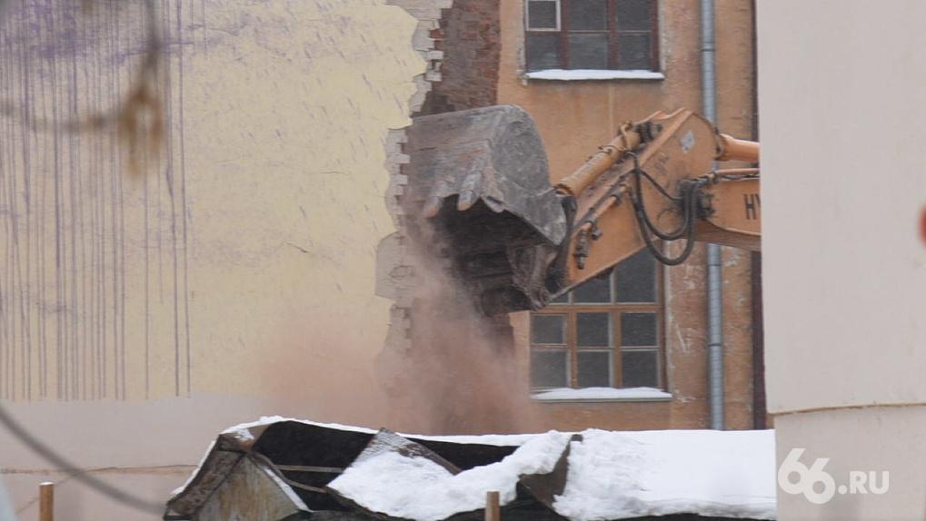 Прокуратура отозвала иск к подрядчику «Маяка», который сносил здание ПРОМЭКТа с нарушениями