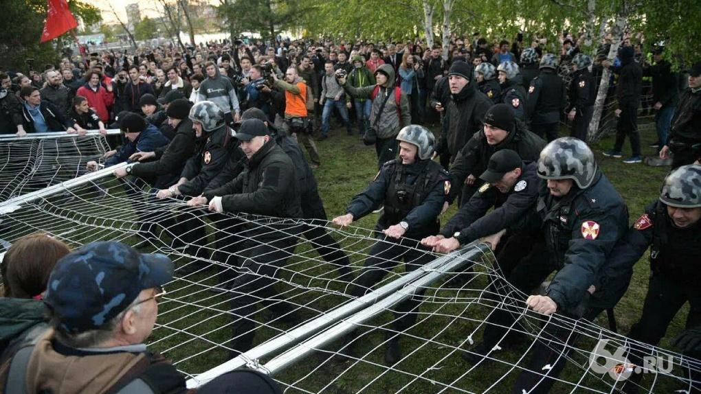 «Силовиков интересуют трое»: кого привлекут к уголовной ответственности за массовые беспорядки в сквере