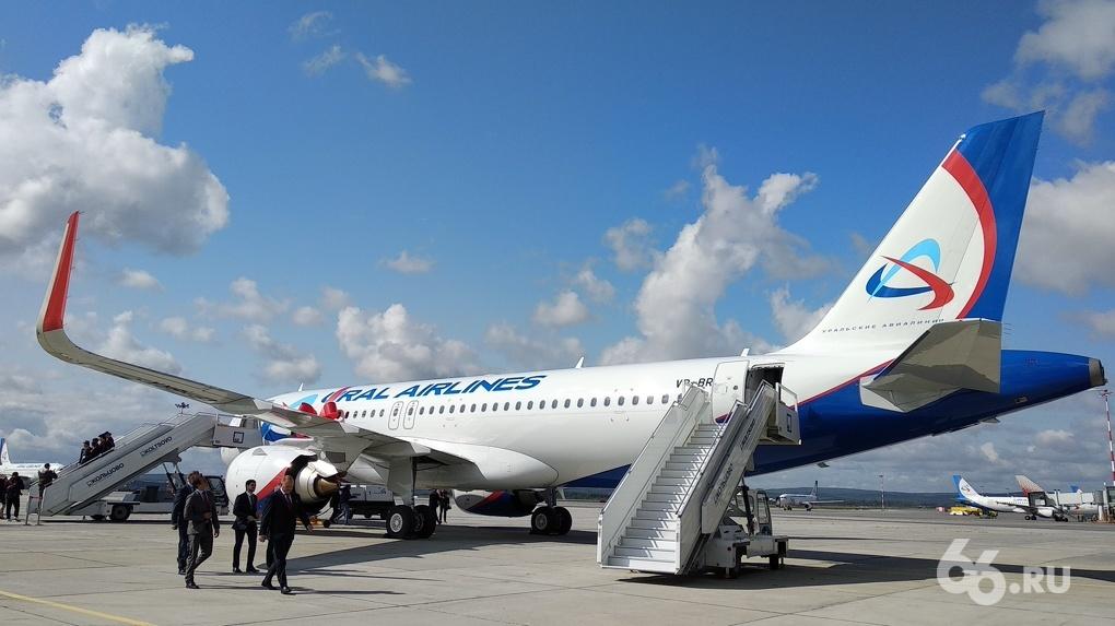 «Уральские авиалинии» показали новейший Airbus, на котором можно будет улететь во Владивосток и Токио