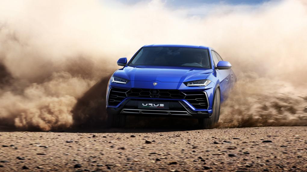 Успевай накопить до весны: Lamborghini представила свой первый кроссовер — Urus