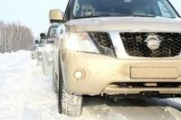 Участники пробега Nissan посетили Екатеринбург