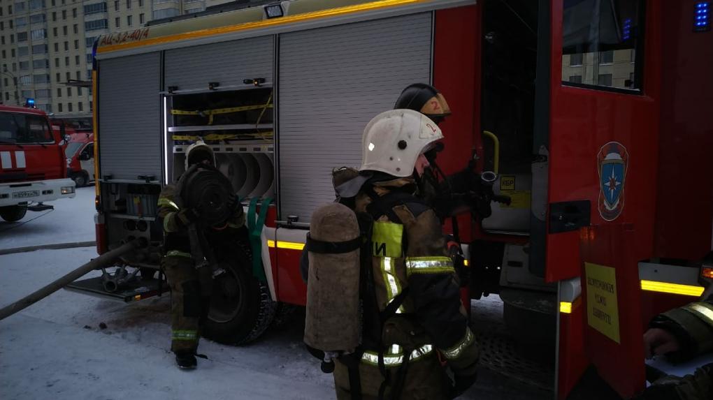 После крупного пожара на Белинского офисные центры ждут проверки МЧС