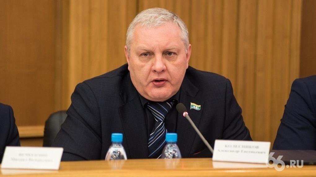 Спикер Игорь Володин меняет власть в гордуме. Он уже попытался снести депутата Колесникова