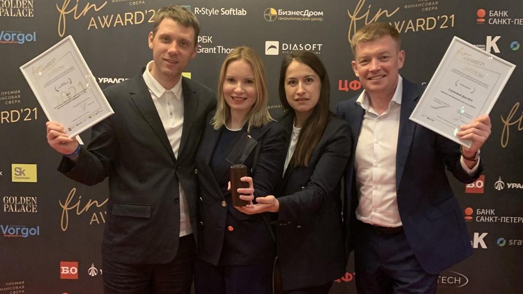 Страховой Дом ВСК получил престижную премию за достижения в финансовой отрасли