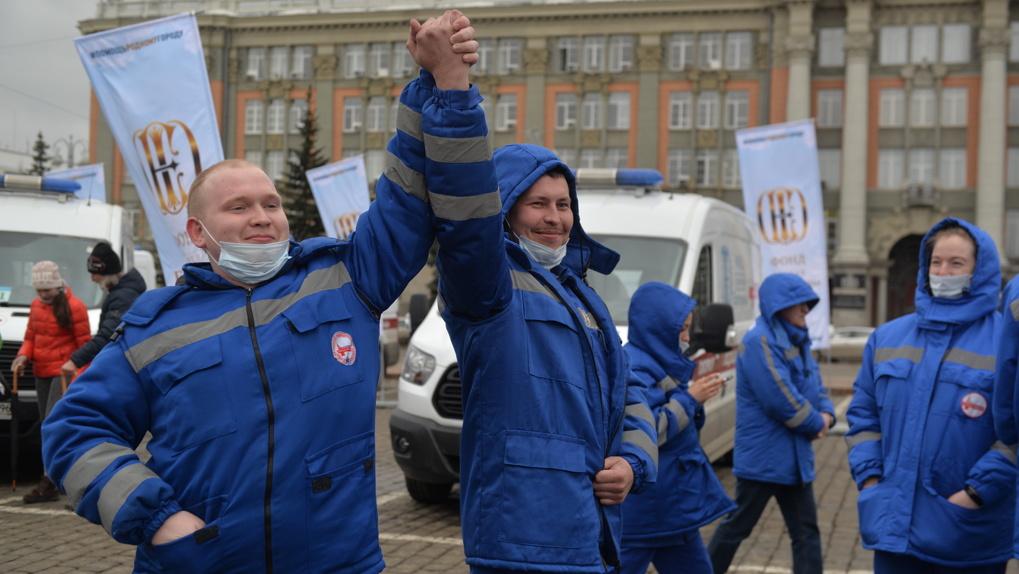 Парк машин скорой помощи в Екатеринбурге полностью обновлен. Их хватит даже на случай ЧС