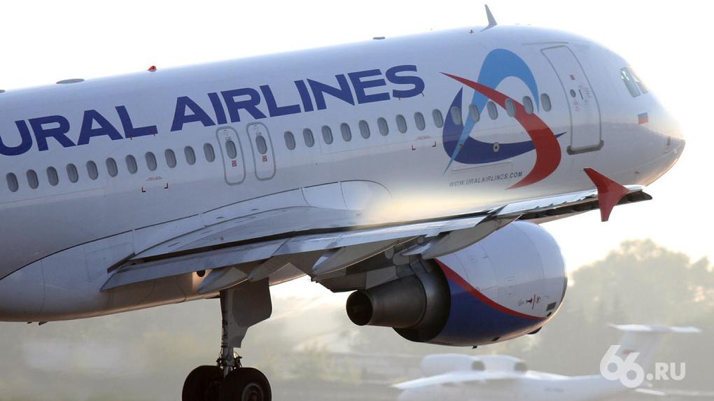 «Уральские авиалинии» запустят прямые рейсы из Екатеринбурга в Минск