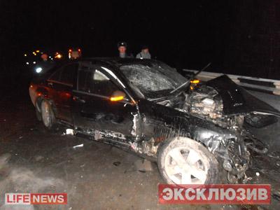 Первые фото с места ДТП губернаторской и гражданских машин
