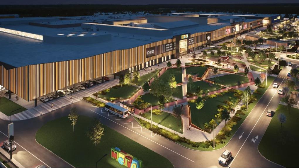 «Мега» построит вторую очередь. Там появится большой кинотеатр и парк развлечений