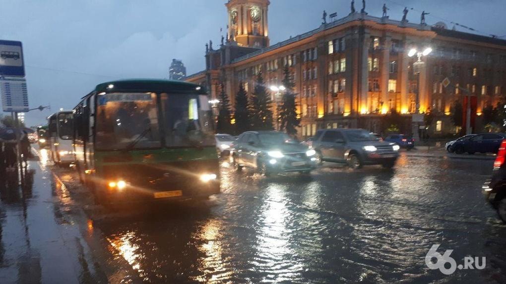 Александр Высокинский — о последствиях ливня: «Ливневки справились. Были лужи, больших потопов не было»