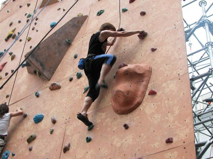 Спортивную школу по скалолазанию выселяют из «Башни»