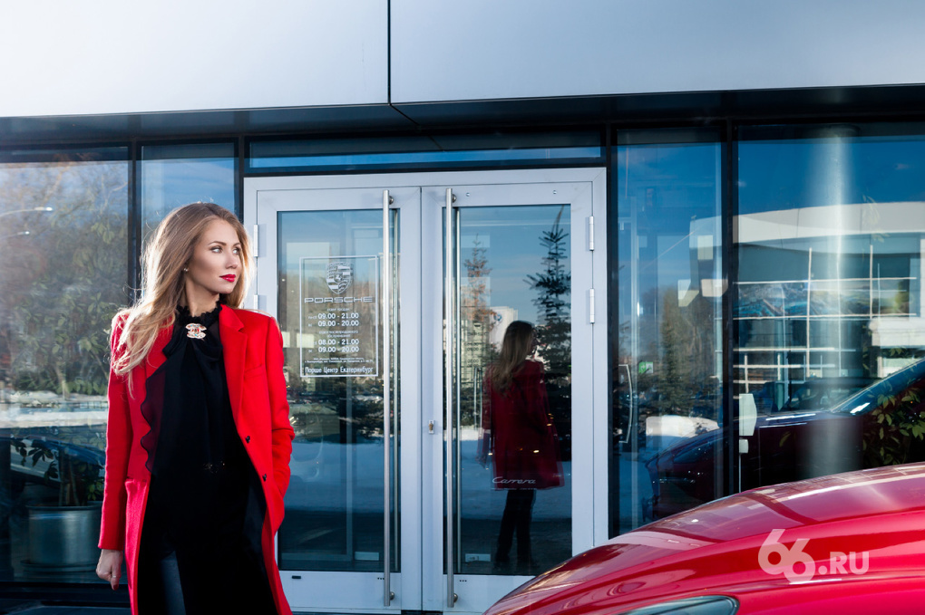 VIP-тест: Наталья Полещук и Porsche Cayenne GTS