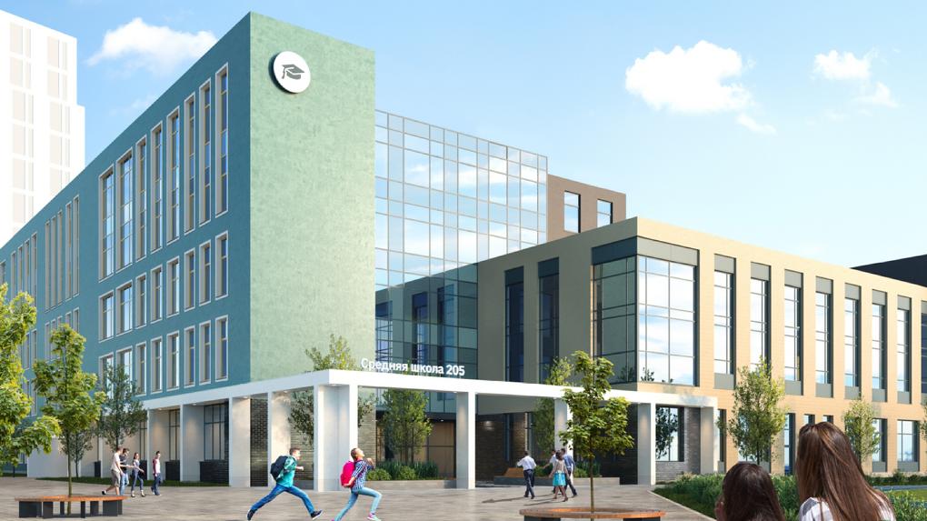 В Екатеринбурге построят первую пятиэтажную школу. Рендеры