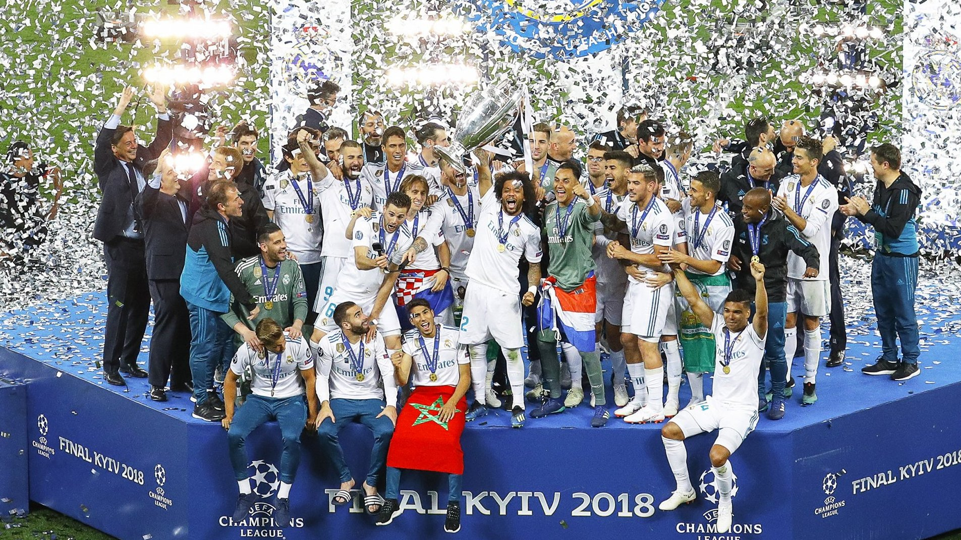 «Реал» выиграл Лигу чемпионов в третий раз подряд. Этого еще никому не удавалось