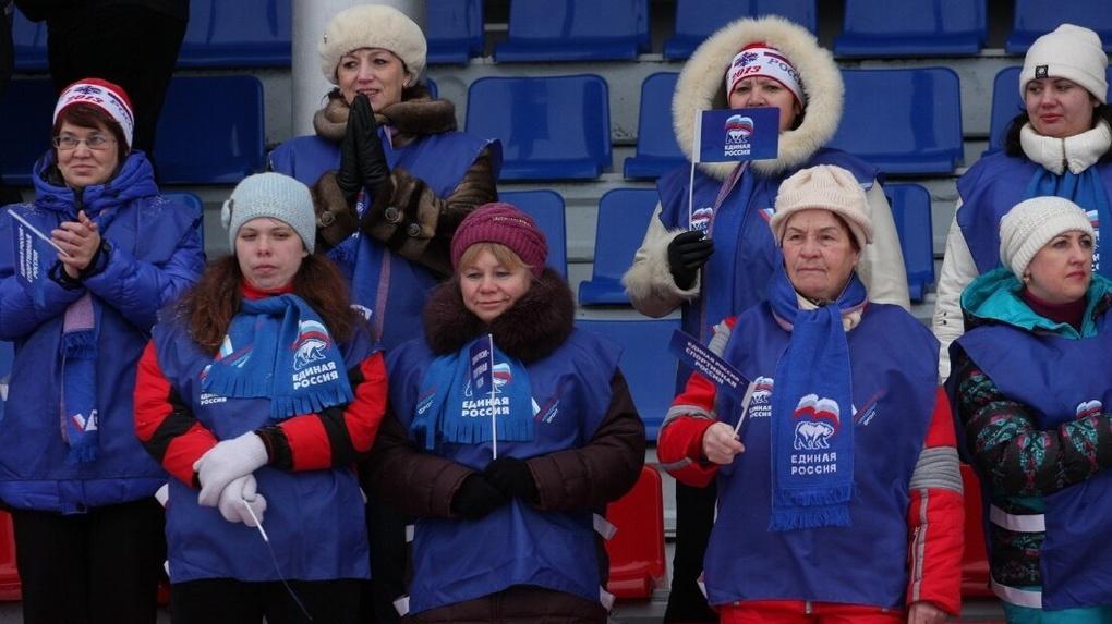 На праймериз «Единой России» сгоняют бюджетников и родителей школьников. Скрины