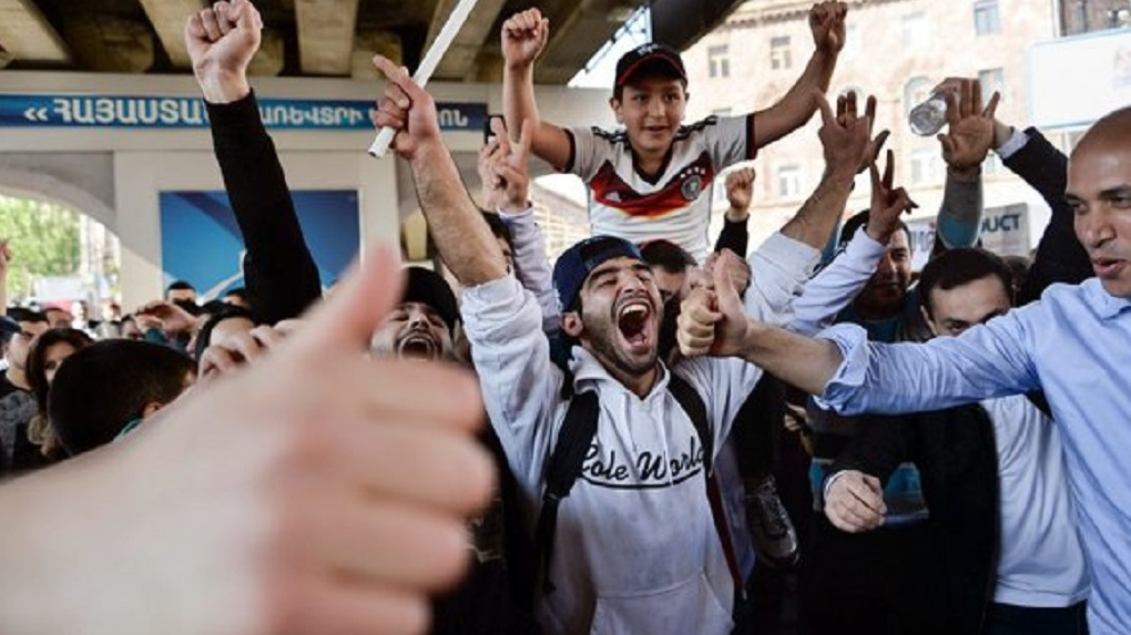 Протесты вАрмении: работники  Ереванского метрополитена объявили забастовку