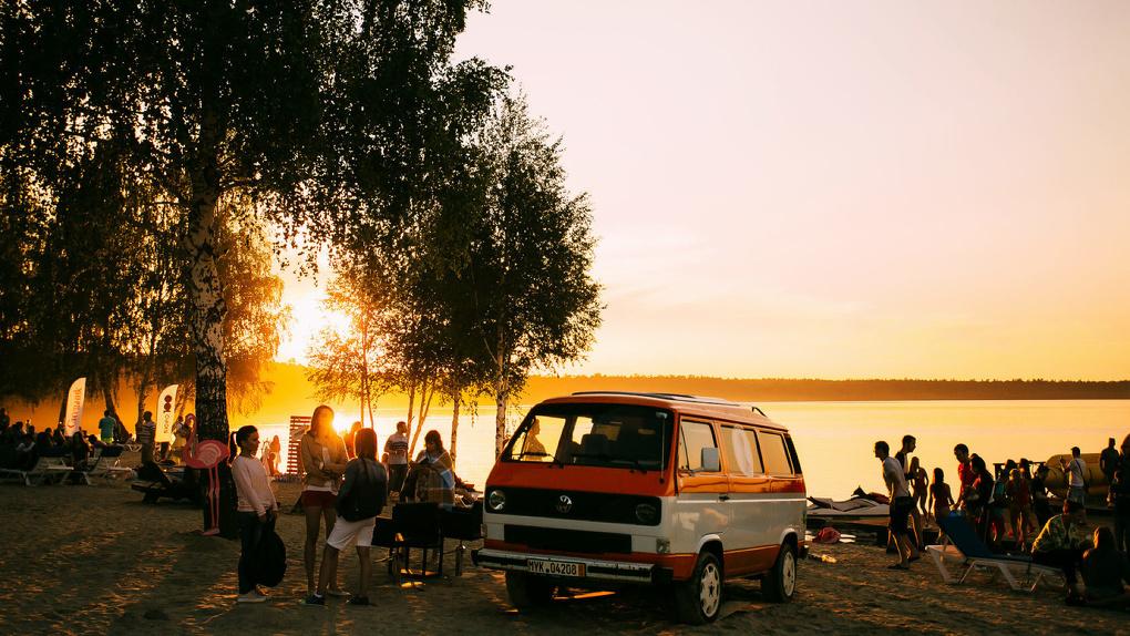 На «Огонь Пляже» под Екатеринбургом создадут палаточный лагерь