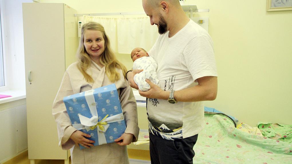 В день святой Екатерины в городе родились 56 малышей. Все они получили подарки