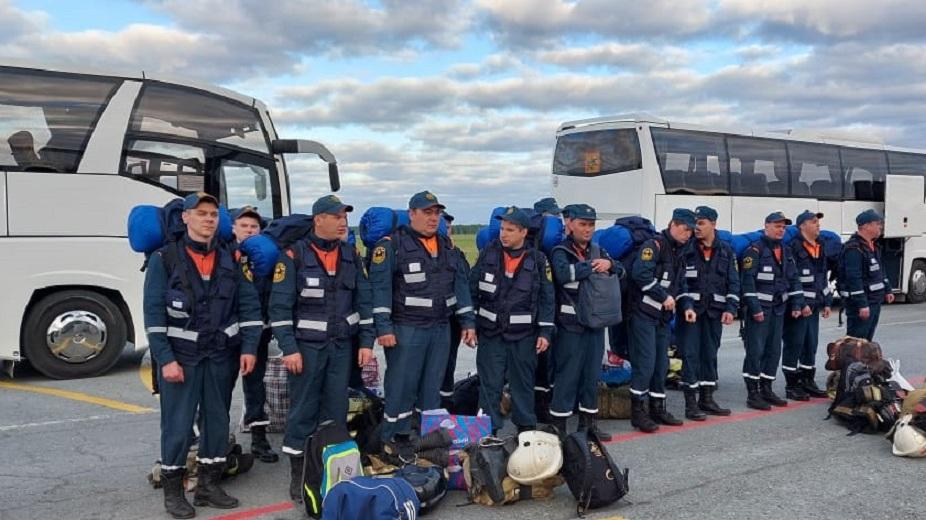Свердловских спасателей отправили тушить Тюменскую область. Карта лесных пожаров