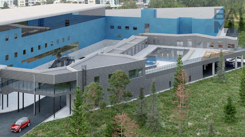 К аквапарку «Лимпопо» пристроят спа-комплекс с открытым бассейном