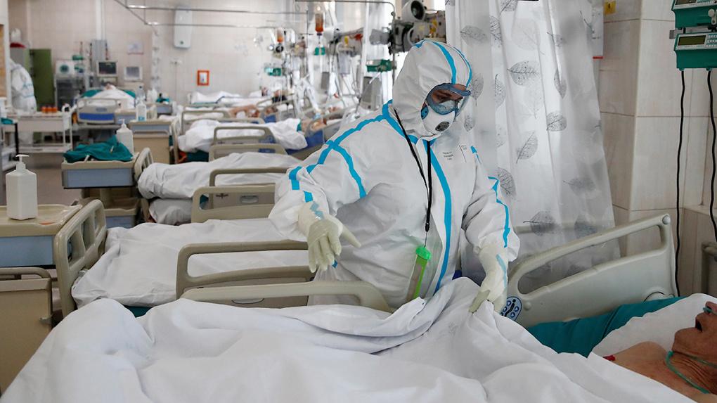 В российских больницах заканчиваются места для больных коронавирусом